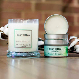 Clean Cotton Soy Candle