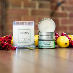 Lemon Berry Soy Candle