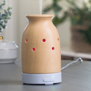 Bamboo Aromatherapy Diffuser | Mallory Candle Co