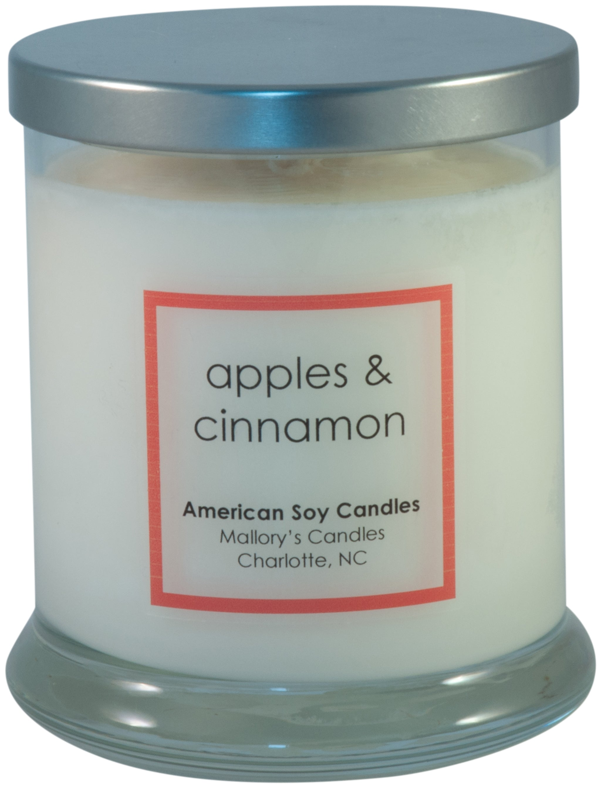Apple & Cinnamon Soy Candle