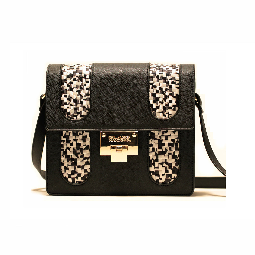 BLACK PIXEL CROSS-BODY BAG/PRE-ORDER
