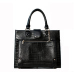 BLACK BOSS LADY SATCHEL