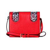 RED PIXEL CROSS-BODY BAG/PRE-ORDER 30% OFF