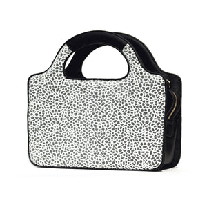 WHITE AND SILVER POP ROCK SATCHEL/PRE-ORDER