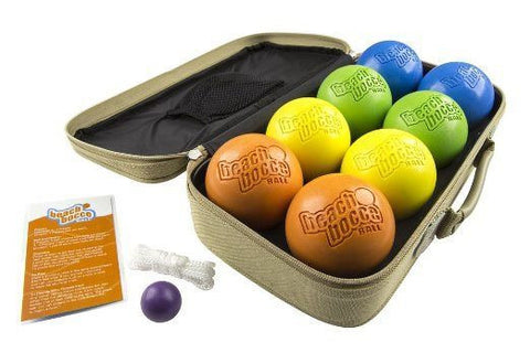 Beach Bocce Ball Set w/ Carrying Case