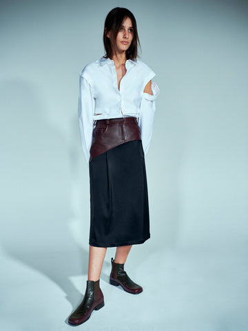 Eclipse Jean Slip Skirt - Christopher Esber