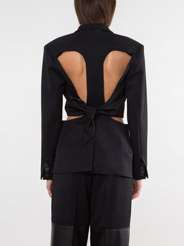 Loophole Tie Back Blazer - Christopher Esber