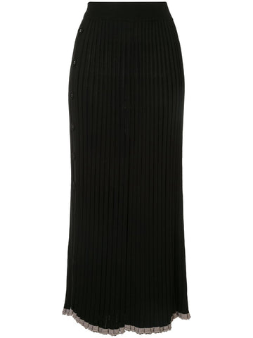 Pleated Knit Skirt - Christopher Esber