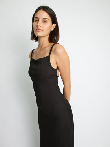 Backless Wire Back Rib Dress