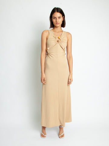 Quartz Ribbed Tank Dress