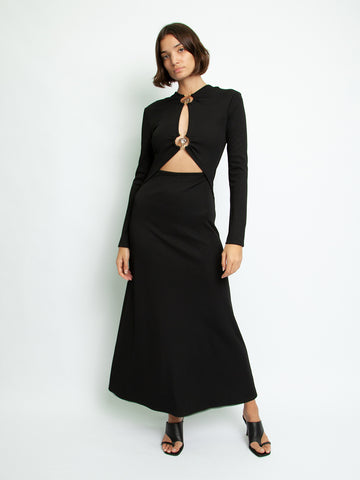 Long Sleeve Orbit Dress - Christopher Esber