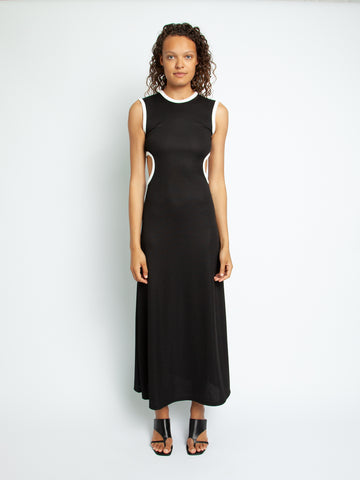 Fran Negative Space Rib Dress