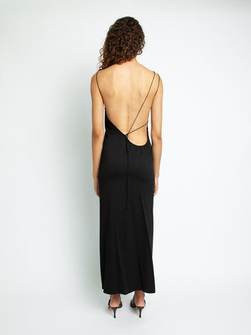 Yrjo Backless Tie Dress