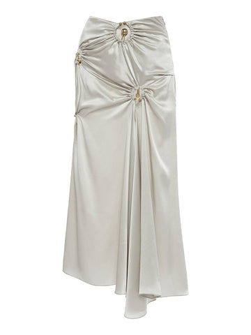 Orbit Ruched Draped Skirt - Christopher Esber
