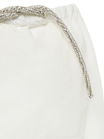 Cargo Crystal Tie Skirt - Christopher Esber