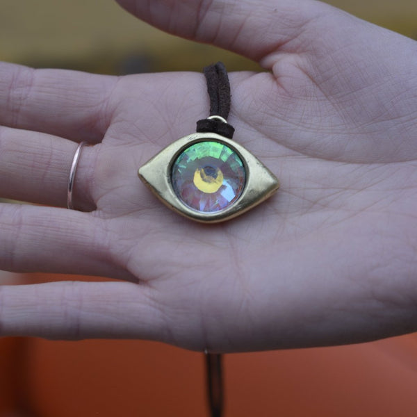 GOLDEN EYE - 18mm RAINBOW PORTAL - FUTURE EYES