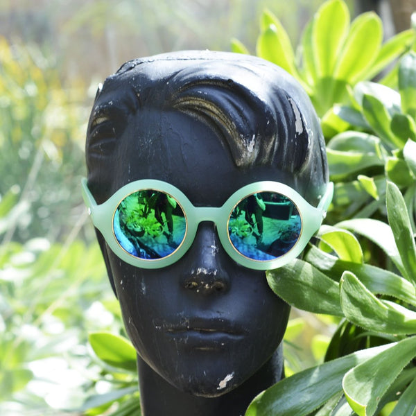 Future Sun Glasses - Green - FUTURE EYES