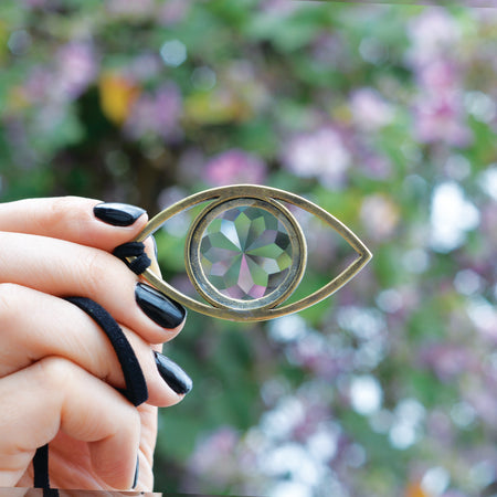 Wild Flower Eye - 18mm Crystal Lens