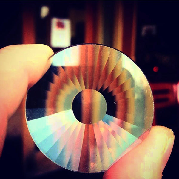 50MM CRYSTAL LENS - PORTAL CRYSTAL (Gift for Artists) - FUTURE EYES