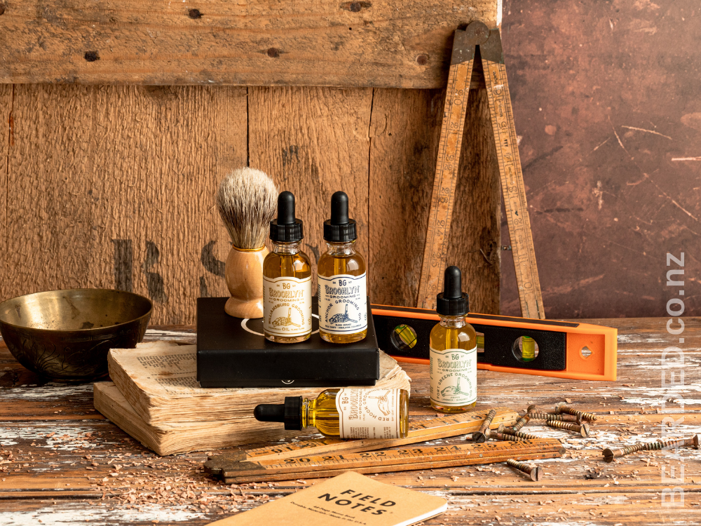 BEARDED. Brooklyn Grooming Beard Oils