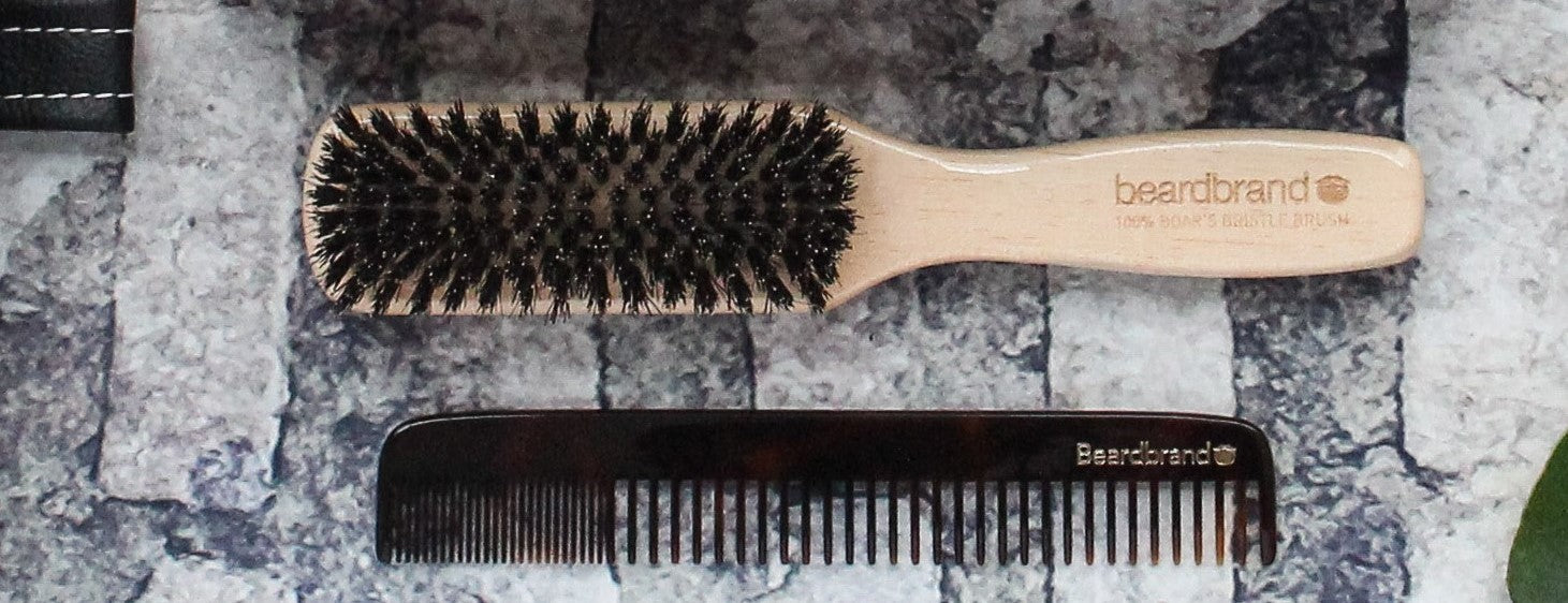 BEARDED Brush and Combs