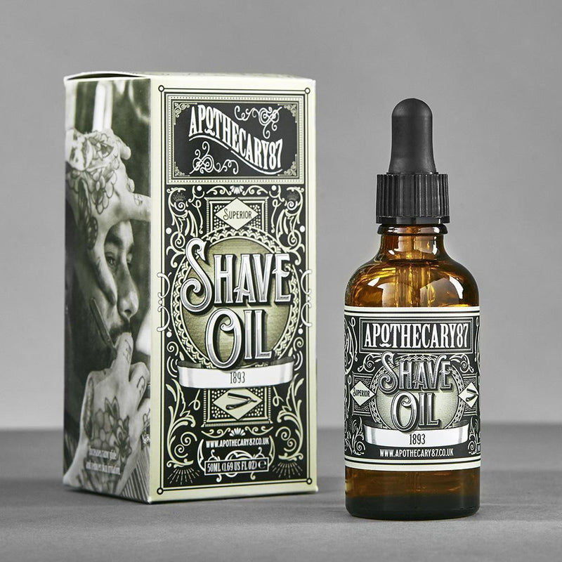 Shave Oil-Apothecary87-BEARDED.