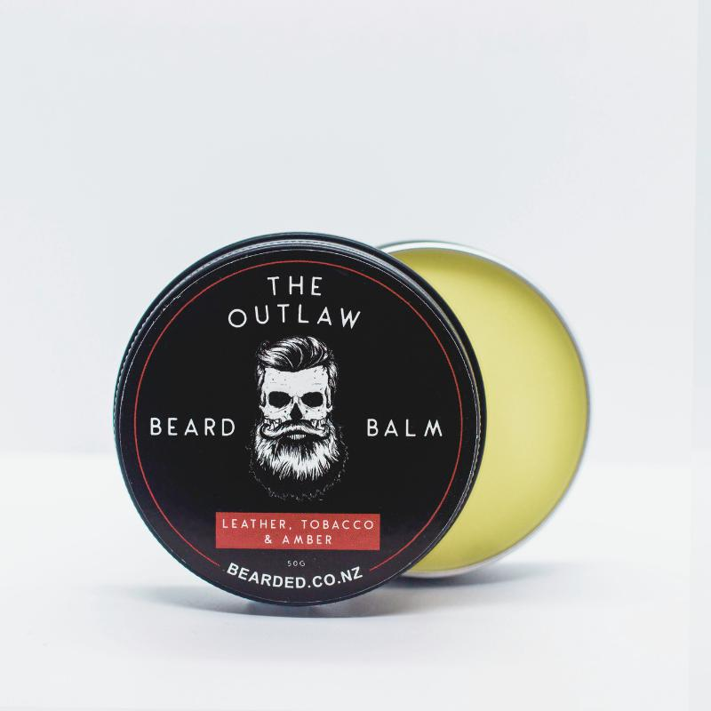 The Outlaw Beard Balm-BEARDED.-BEARDED.