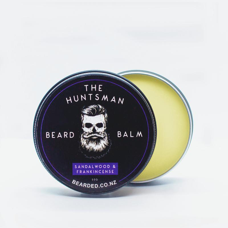 The Huntsman Beard Balm-BEARDED.-BEARDED.