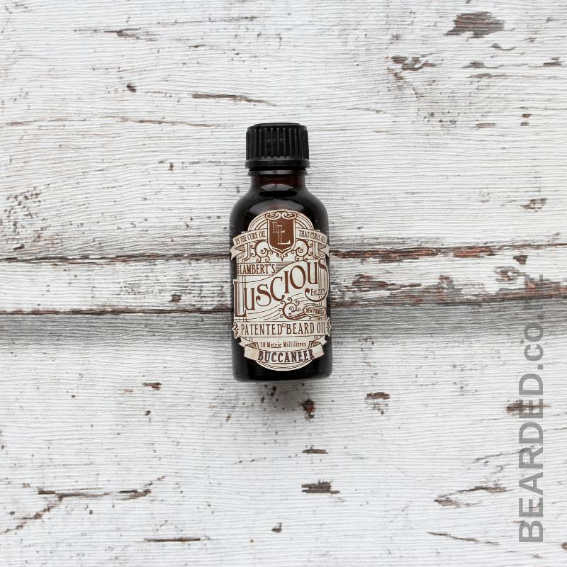 Buccaneer Beard Oil-Lambert's Luscious-BEARDED.