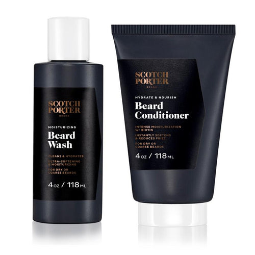 Beard Wash & Conditioner Bundle-Scotch Porter-BEARDED.