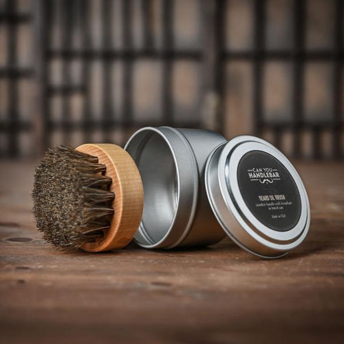Beard Oil Brush-Can You Handlebar-BEARDED.