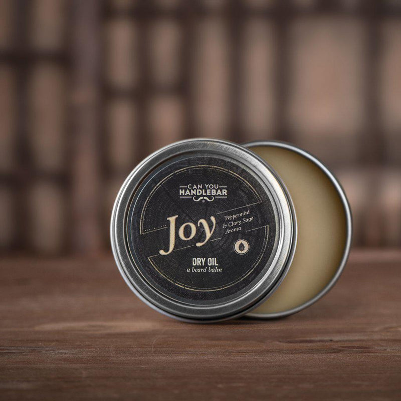 Joy Beard Dry Oil (Beard Balm)-Can You Handlebar-BEARDED.
