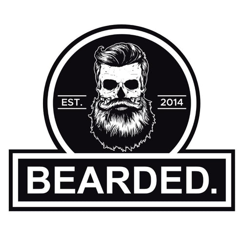 BEARDED. Sticker - FREE-BEARDED.-BEARDED.