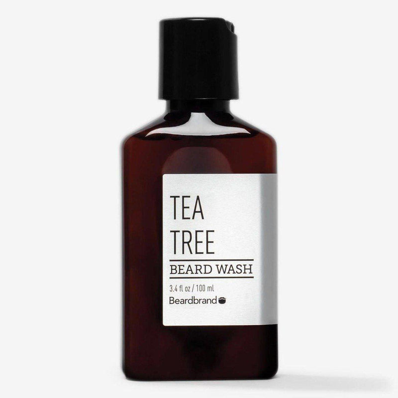 Tea Tree Beard Wash-Beardbrand-BEARDED.