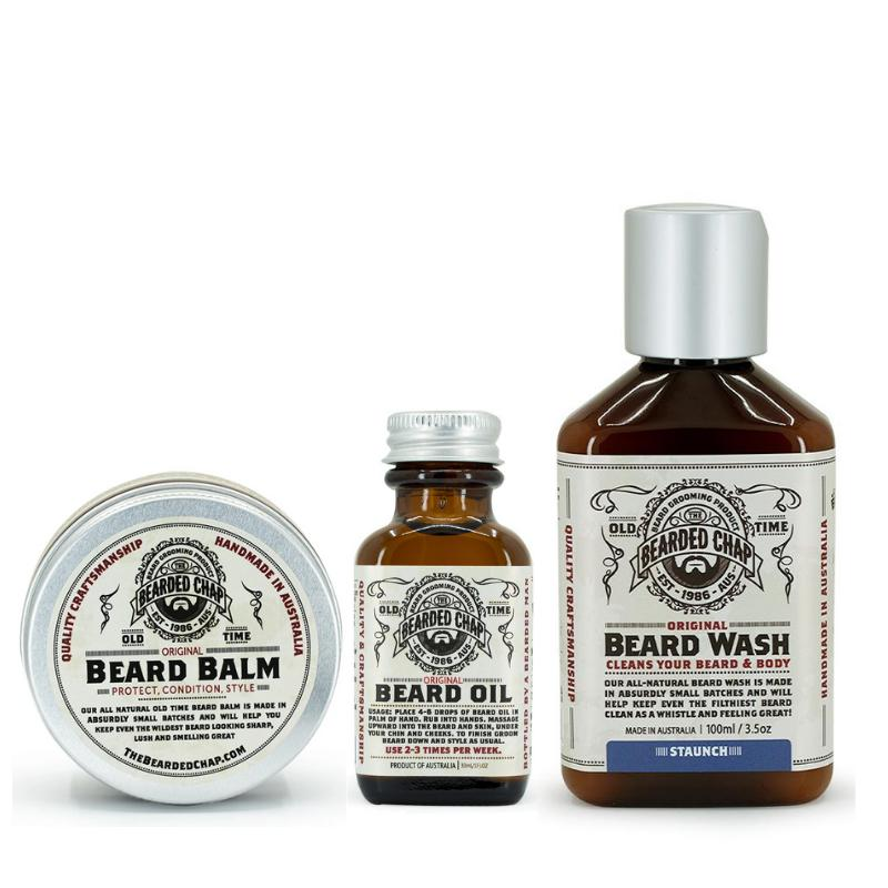 Beard Trilogy Kit-The Bearded Chap-BEARDED.