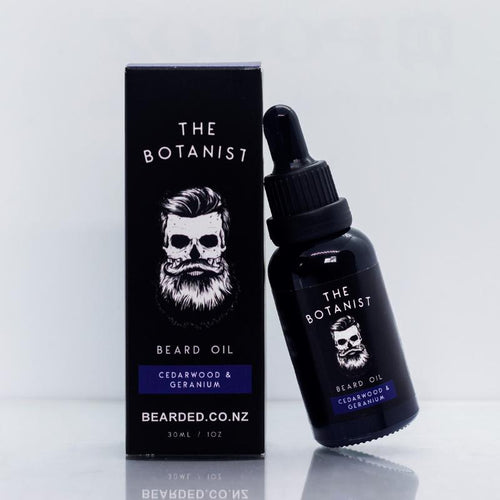 The Botanist Beard Oil-BEARDED.-BEARDED.