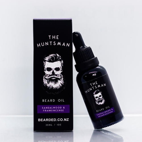 The Huntsman Beard Oil-BEARDED.-BEARDED.