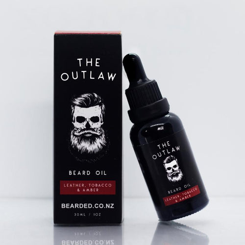 The Outlaw Beard Oil-BEARDED.-BEARDED.