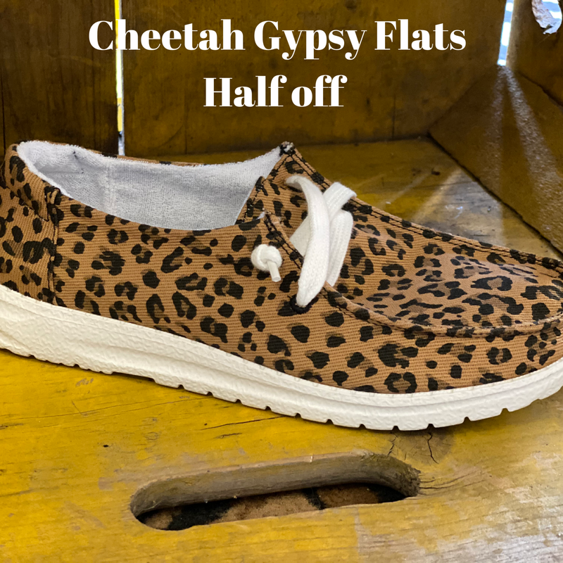 Gypsy Cheetah Flats
