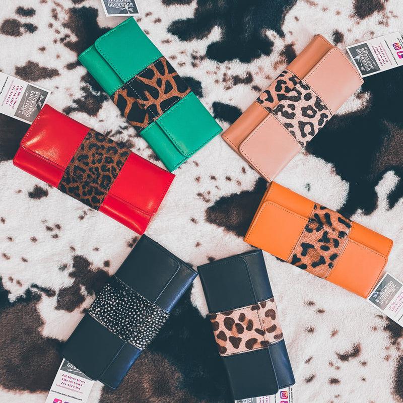 Bria Leather Wallets