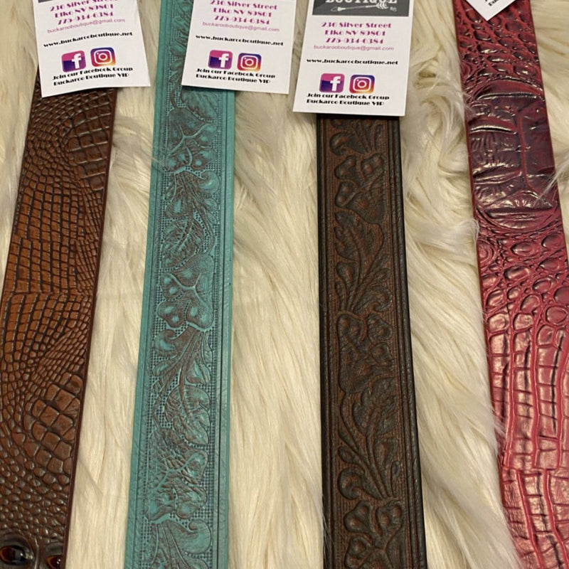 Anzell Tooled Belts