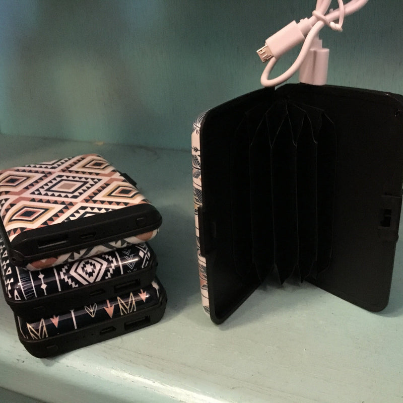 Tribal wallet power bank