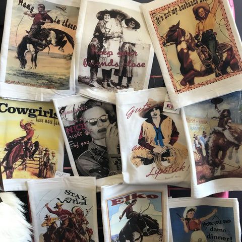 Cowgirl Tea Towels