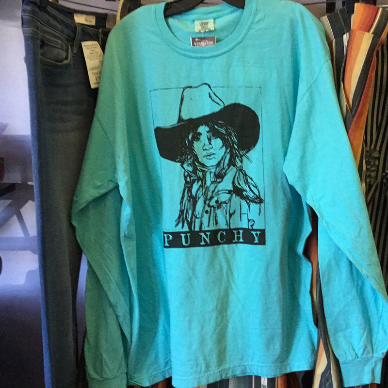 Long Sleeve Punchy Tee