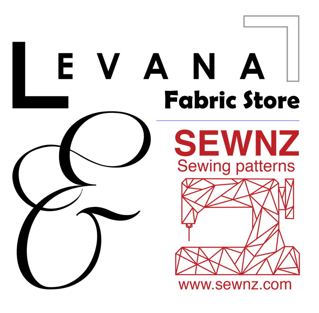 SEWNZ and LEVANA Fabric Shop Competition Collaboration Sep/Oct 2016