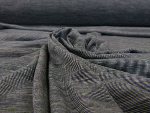 Merino Tencel- Blue Night/Grey marl