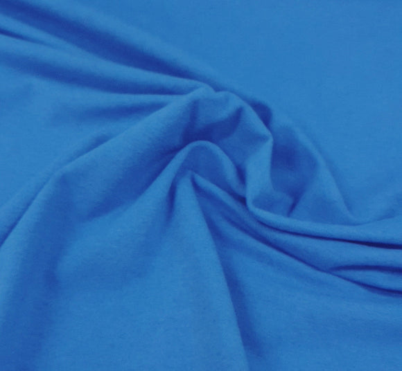 Cotton Elastane - Blue