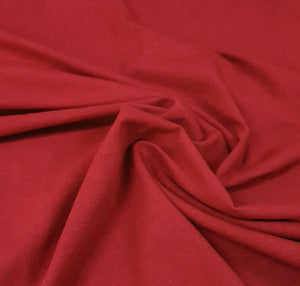 Cotton Elastane - Red