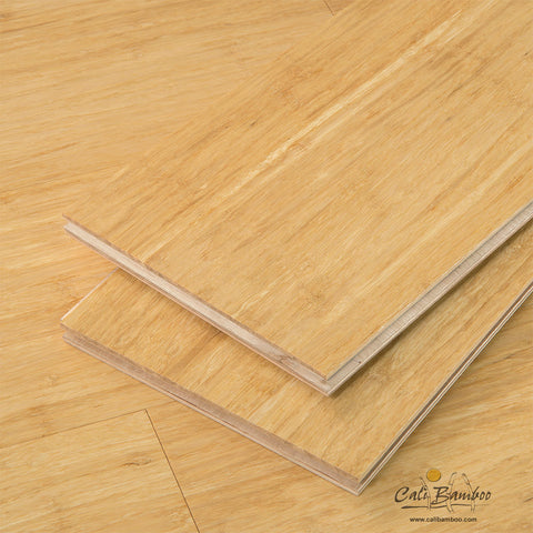 "Natural Wide Click Bamboo 9/16""® Engineered Bamboo Flooring"