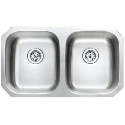 Double Bowl 50/50 H Sink